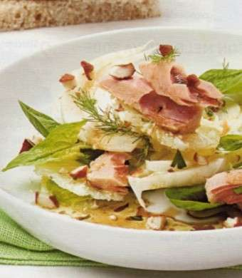 Ricette light: insalata ricca di tonno