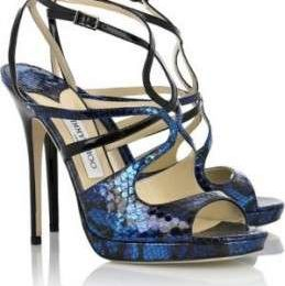 Scarpe Jimmy Choo, Neve leather sandals