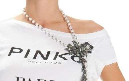 Pinko, le magliette gioiello