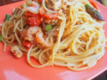 Ricette light: pasta con gamberoni