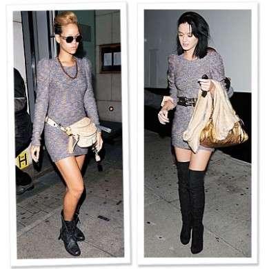 Rihanna e Katy Perry con lo stesso abito H & M