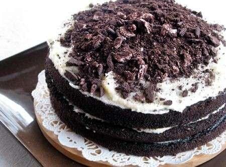 Ricette dolci: torta al cioccolato con gli Oreo