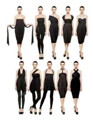 Shopping: il vestito infinity di Donna Karan