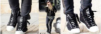 Chanel: scarpe modello Converse All Star