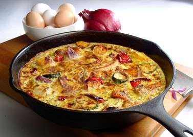 Frittata light