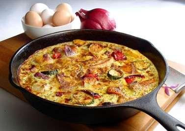 Ricette light: frittata al forno