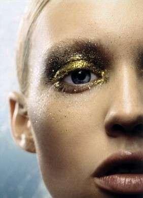 Make up Capodanno 2010: i glitter
