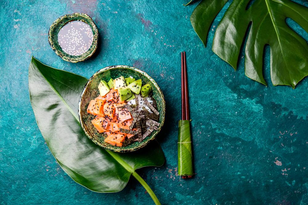 Ricette: insalata di avocado e sesamo