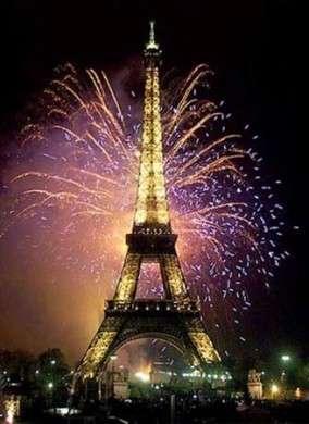 torre eiffel fuochi artificio