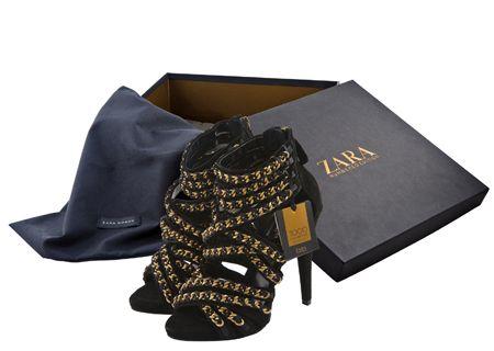 Zara: collezione scarpe in edizione limitata