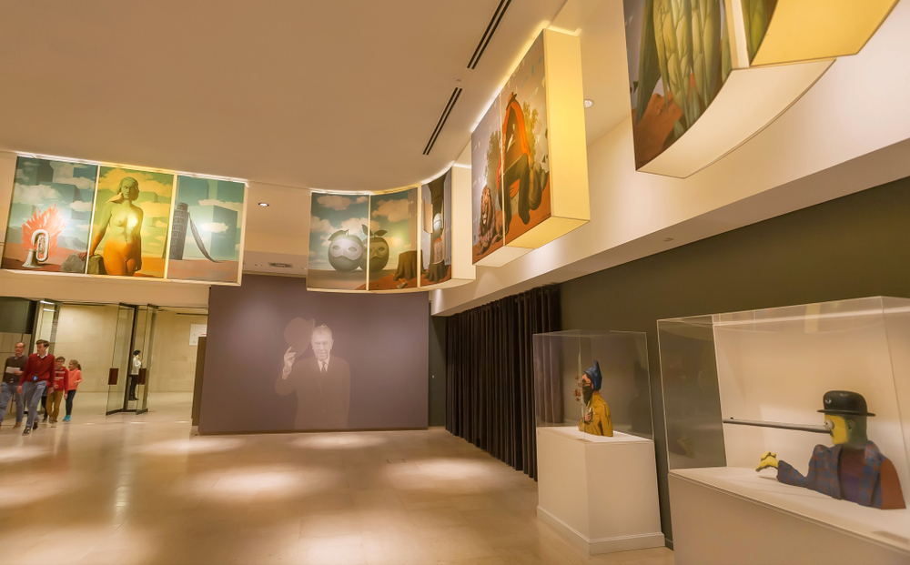 Arte: il Museo Magritte a Bruxelles