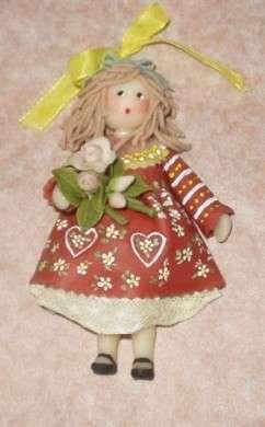 Pasta di sale: come si fa una bambolina