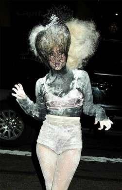 capelli tagli 2010 lady gaga couture