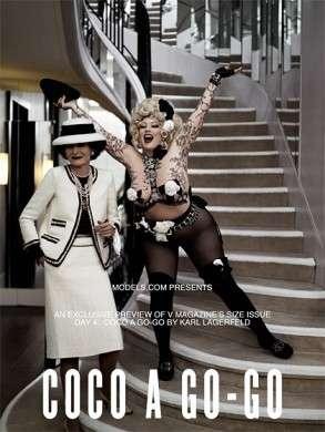 Karl Lagerfeld ci ripensa: fotografa modelle plus size per V Magazine