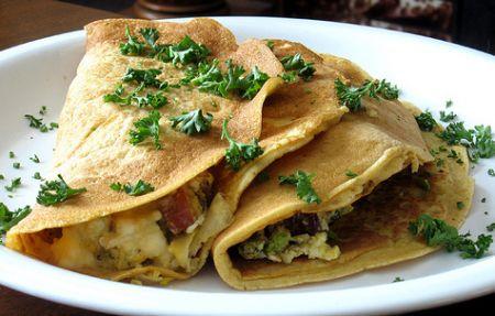 Ricette San Valentino light: crepes di riso con ricotta e zucca