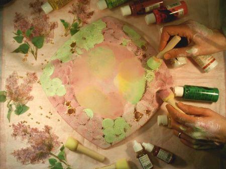 decoupage vetro colori