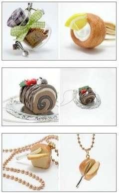 design fetish miam food jewelry