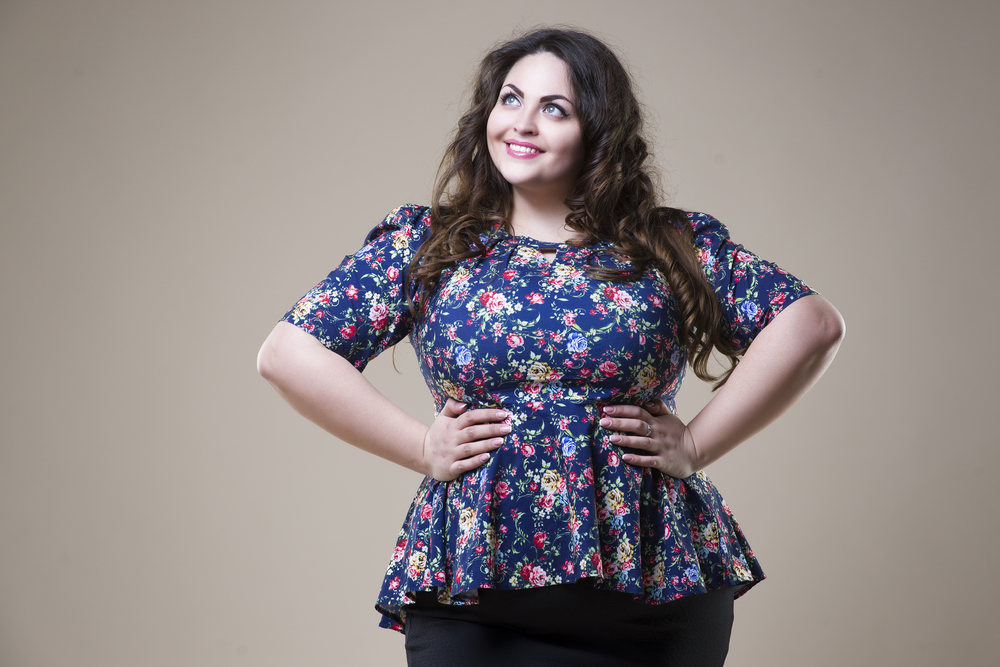Addio dieta, la donna piace taglia XL [FOTO]
