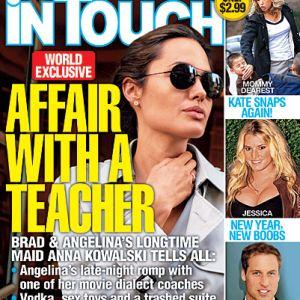 Angelina Jolie ha tradito Brad Pitt