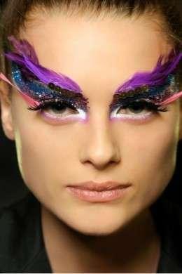 Make up estremo piume