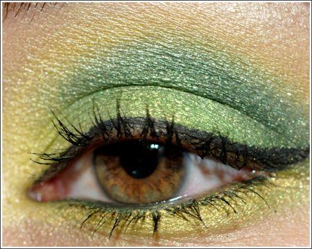 Trucco occhi: verde e giallo per l'estate