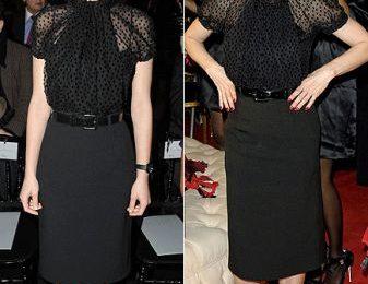 Marion Cotillard con scarpe Christian Dior