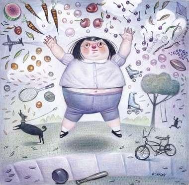 Obesità infantile, la colpa è dei genitori