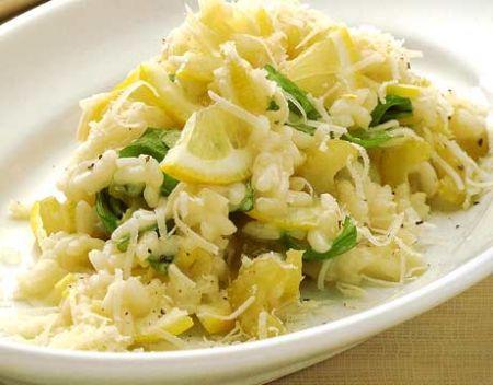 Ricette light: risotto al limone