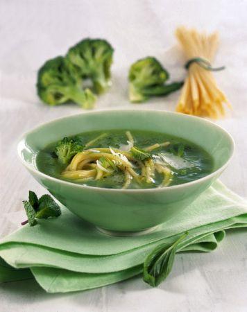 zuppa broccoli