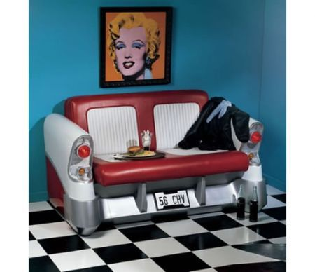 Arredamento: il divano Pop Art