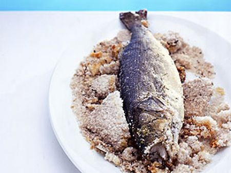 Ricette light: branzino al sale