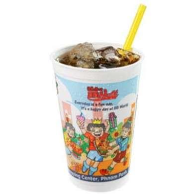 cola in cartone fast food