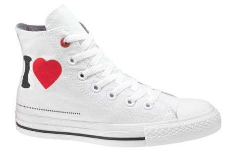 converse red love bianca