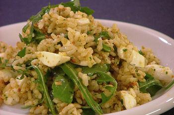 Ricette light: insalata di riso e pomodori