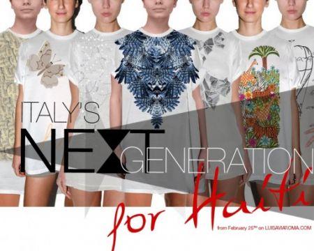 Milano Moda Donna: Italy's Next Generation for Haiti
