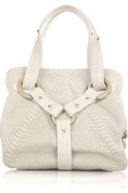 Borse Jimmy Choo, Odette M leather tote