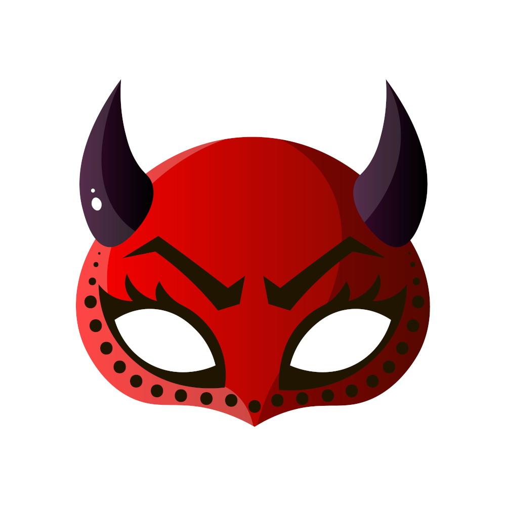 Maschera diavoletto sexy per Carnevale