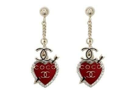Orecchini Chanel San Valentino