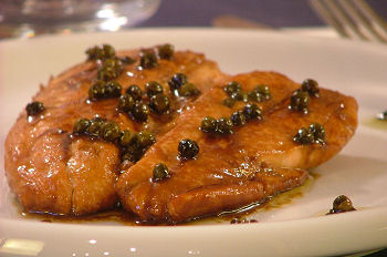 Ricette light: filetto di salmone al pepe verde