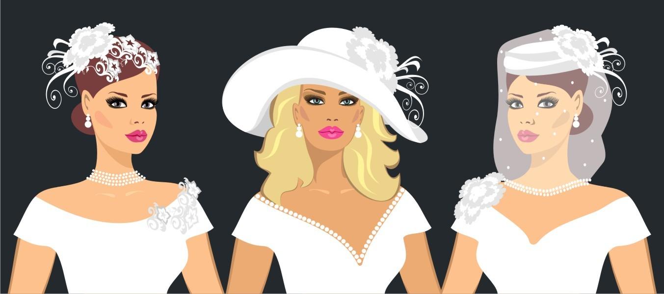 Matrimonio: i cappelli per la sposa