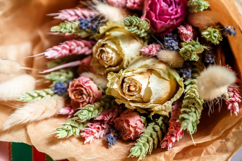 Essiccare i fiori a regola d'arte
