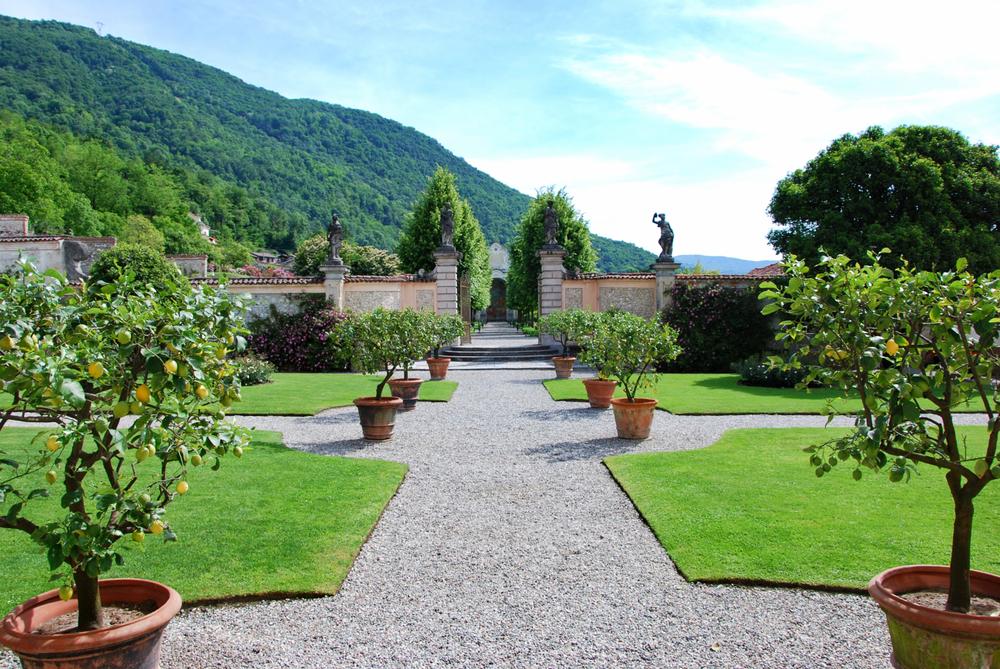 Garden of Villa Della Porta Bozzolo