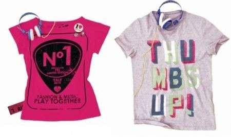 Bershka e TRL: le T-shirt per chi ama la musica
