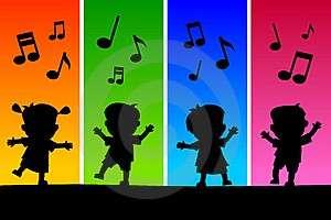 I bambini sono bravi a ballare