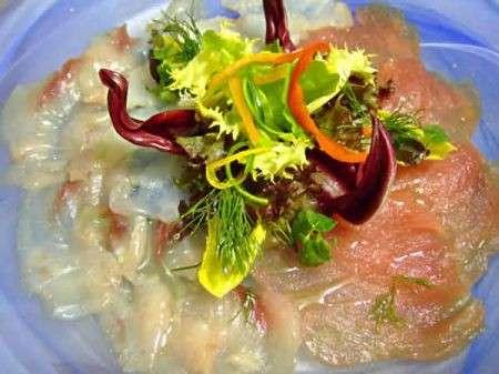 Ricette light: carpaccio di pesce