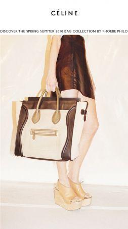 Celine: borse by Phoebe Philo, ecco la prima collezione