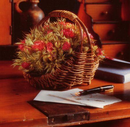 Creare un cesto di fiori secchi