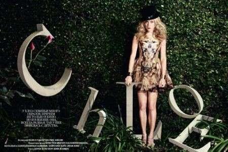 Chloë Sevigny come Alice per Harper's Bazaar Russia