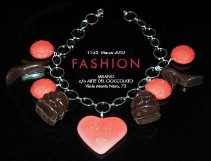 Fashion by Chocotravels, mostra di gioielli in cioccolato