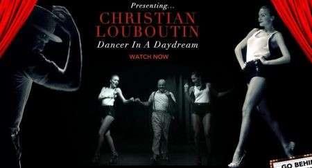 Christian Louboutin ballerino in un cortometraggio